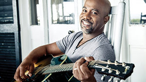 Grammy-award winning artist Darius Rucker