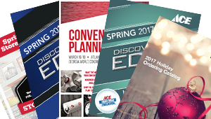 Ace 2017 Spring Convention & Exhibits catalogs